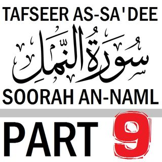 Soorah an-Naml Part 9: Verses 54-59