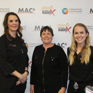 BEST OF HEALTH Sarah Neumann and Brittany Kasprzyk with Ahwatukee Skin and Laser and Sun City Dermatology