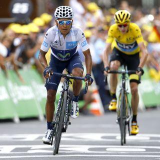 Nairo tras etapa 17 del Tour