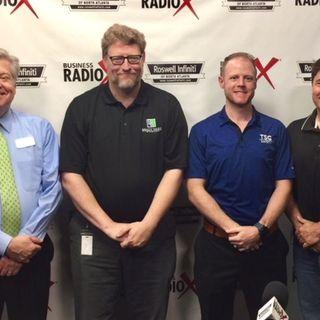 Michael Blake with Brady Ware & Company and Matt Thompson with TSG Safety