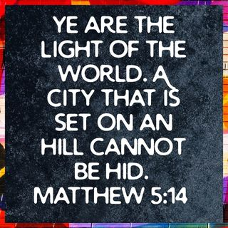 #VOTD Matthew 5:14 A City on a HIll