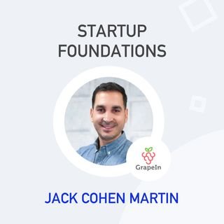 Jack Cohen Martin, Co-founder & CEO of GrapeIn