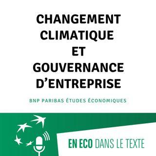 #03 – Changement climatique et gouvernance d'entreprise