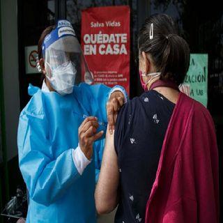 Primeras vacunas para trabajadores de salud