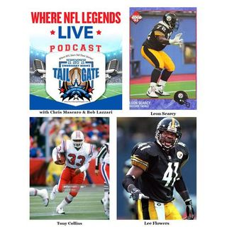 NFL Legends Leon Searcy, Tony Collins, & Lee Flowers Join Us...