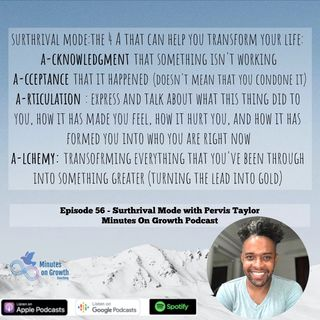 Surthrival Mode with Pervis Taylor