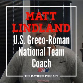 U.S. Greco-Roman National Team Coach Matt Lindland