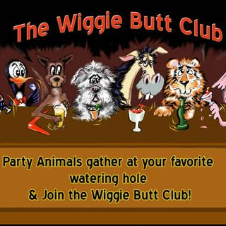 Happy Hour at the Wiggie Butt Club Bar