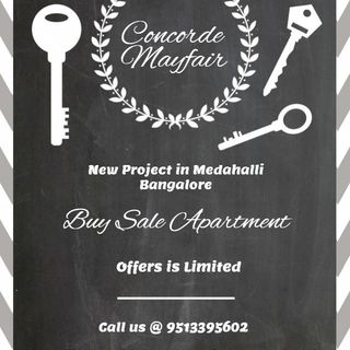 Concorde Mayfair - Launching Soon in Medahalli On Old Madras Road Bangalore | Book Now