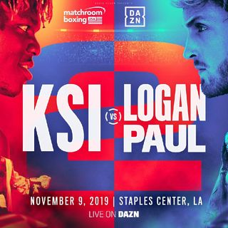HUGE YouTube Boxing Rematch Confirmed!! KSI-LoganPaul 2 Is On November 9 Staples Center,LA On DaznUSA Matchroom Boxing