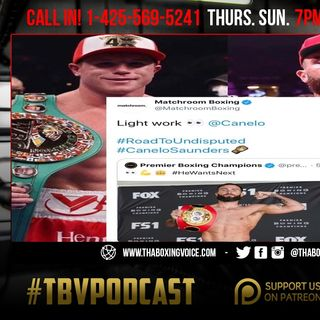 ☎️Canelo STOPS and Sends Saunders to Hospital🏥Canelo to Andrade Get The F*** Outta Here❗️