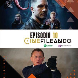 """Episodio 10 """"Primera película rodada en el espacio, 007 No time to die, La divertida Venom2 y mas..."""""""
