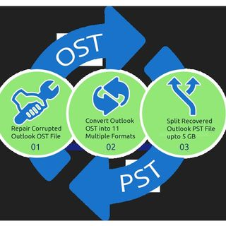 Export OST to Outlook PST File