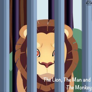 Bandar, Sher Aur Brahman बंदर, शेर और ब्राह्मण (Hindi)