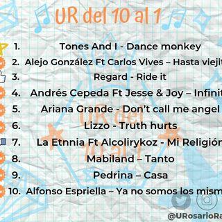Actualiza tus oídos con el conteo musical universitario + destacado #URDel10Al1