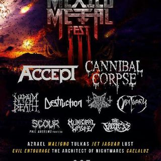 Tecate México Metal Fest 2018 Especial Parte 1/invitados Especiales LA BANDA METALQUIL FREDY Metal Show #89