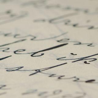 Lettera di Erwin Gregor (ex internato del Campo di Ferramonti di Tarsia)