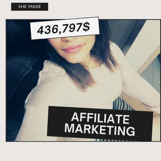 You can make 436,797$ In One YEAR with AFFILIATE MARKETING!