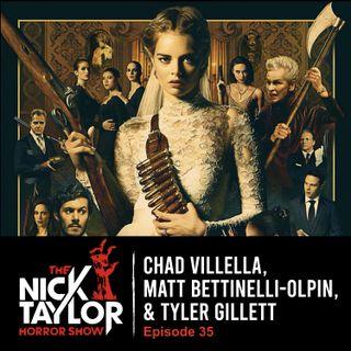 READY OR NOT Director/Producer Trio, Radio Silence: Chad Villella, Matt Bettinelli-Olpin, & Tyler Gillett [Episode 35]