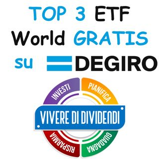 TOP 3 ETF World GRATIS su DEGIRO