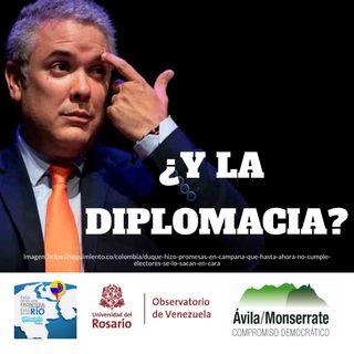 ¿Y la diplomacia?