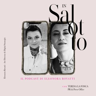 013 #insalottocon Teresa La Fosca - PR & Press Office