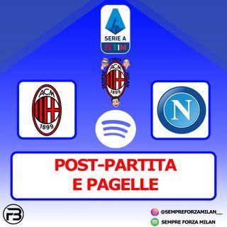 MILAN-NAPOLI 0-1 | PAGELLE e POST PARTITA