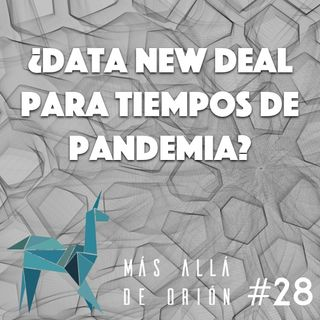 ¿Data New Deal para tiempos de pandemia?