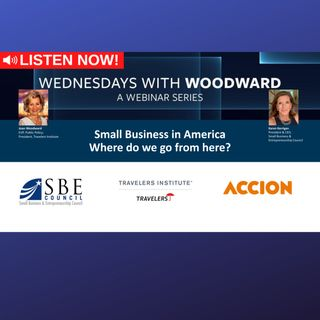 "With Travelers Institute: ""Small Business in America: Where do we go from here?"""