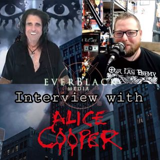Alice Cooper talks 'Detroit Stories', Hollywood Vampires, Johnny Depp and support for mental health