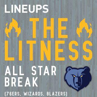 All Star Break (76ers, Wizards, Blazers)