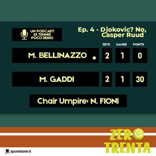 Ep.4 - Djokovic? No, Casper Ruud