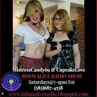 MistressCandy69 & CupcakeLove BDSM ALIVE RADIO SHOW 1/5/19 Interviews Metal Band Ryder