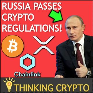 Russia Passes CRYPTO Regulations! - Joe Rogan Talks BITCOIN - Chainlink Colorado Lottery - XRP Whales on the Rise!