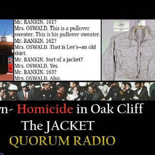 QUORUM RADIO - Bill Brown Discusses the Jacket in Oak Cliff