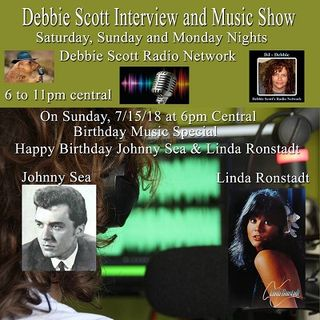 Happy Birthday Johnny Sea & Linda Ronstadt !!  7-15-18