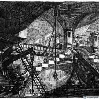 Carceri d' invenzione Giovan Battista Piranesi
