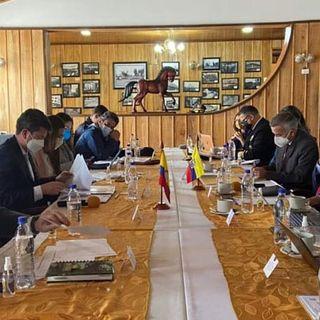 Encuentro de Ministros de Colombia y Ecuador