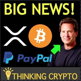 XRP Whales On The Rise - BITCOIN's Demand Surging - PayPal CEO Crypto - MasterCard Crypto Patents