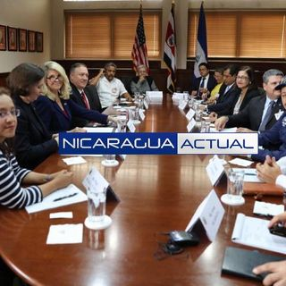 Opositores piden a Pomepo más sanciones para Ortega