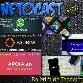 NETOCAST 1202 DE 08 10 2019 - BOLETIM DE TECNOLOGIA
