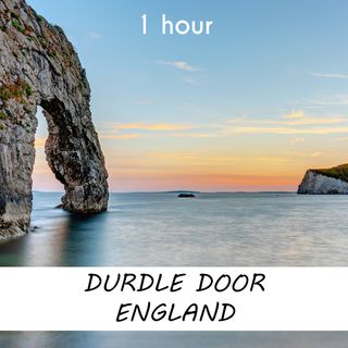 Durdle Door, England | 1 hour OCEAN WAVES Sound Podcast | White Noise | ASMR sounds for deep Sleep | Relax | Meditation | Colicky