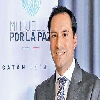 Mauricio Vila, gobernador de Yucatán, da positivo a Covid
