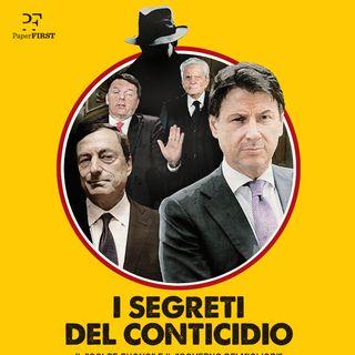 """Marco Travaglio presenta """"I segreti del Conticidio"""" con Andrea Scanzi e Antonio Padellaro"""