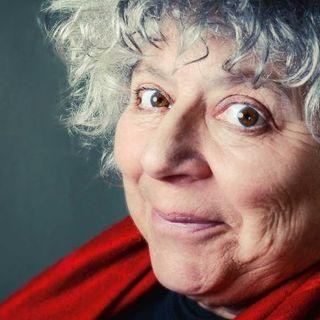 The brilliant Miriam Margolyes