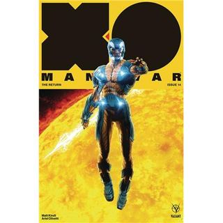 Weekly Comic Recommends: X-0 Manowar #14, Thanos Annual #1, Abbott #4, & more...