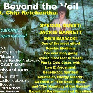 KindnessBeyondTheVeil-Episode116-JackieBarrett-Mediumship-Posession-SerialKillerCases