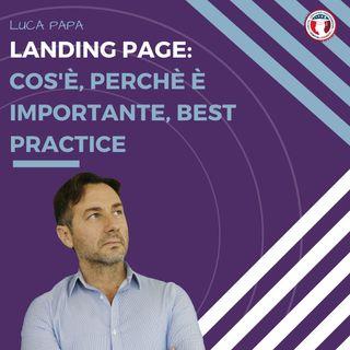LANDING PAGE: cos'è, perchè è importante, best practice