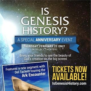 """Dr Del Tackett Joins Us To Talk About """"Is Genesis History"""""""
