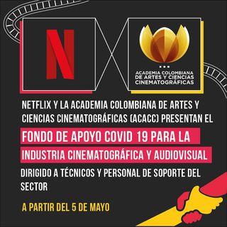 Apoyo de Netflix llega al país con fondo de 500 mil dólares para el sector audiovisual